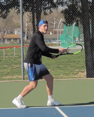 Blue Jay tennis team finishes eighth in Centennial League Tournament