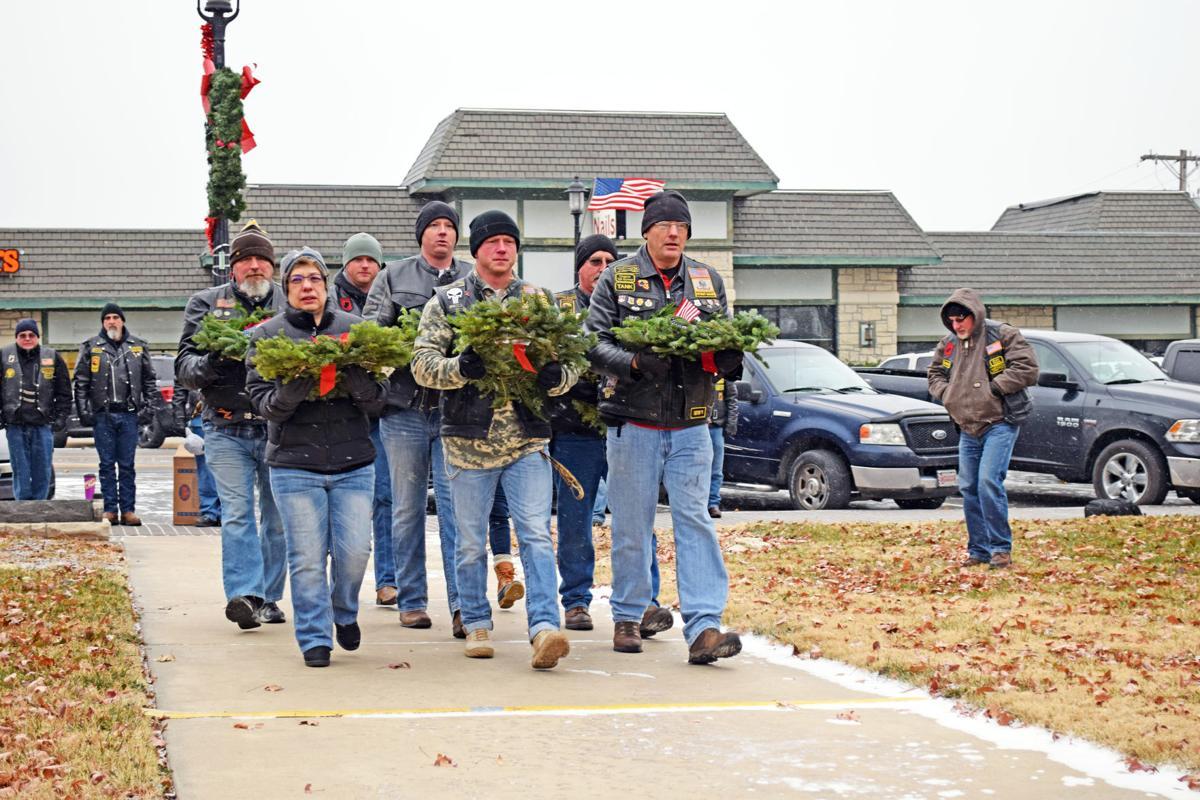 Junction City honors Wreaths Across America