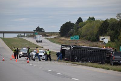 Accident on 1-70 near exit 290 blocks traffic Monday morning