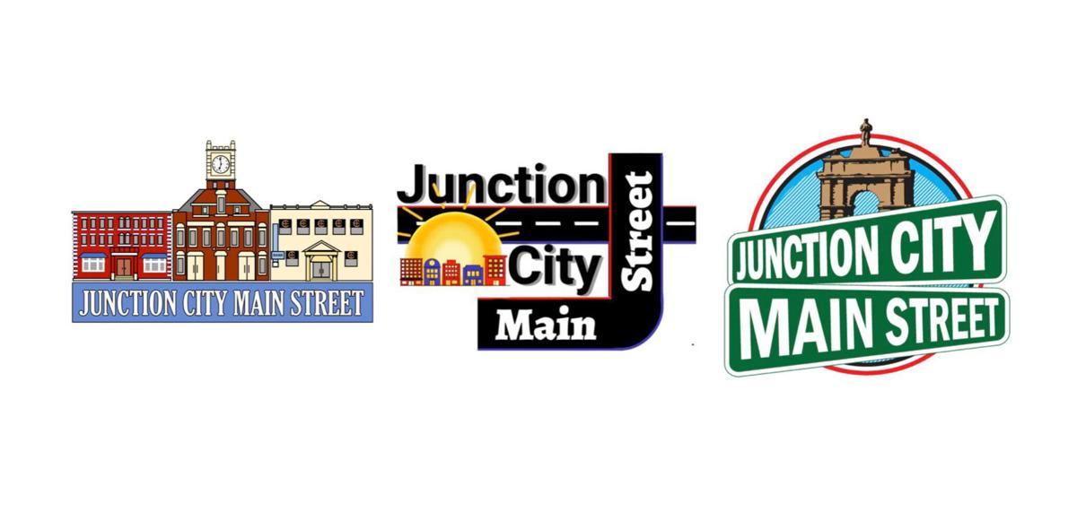 Junction City Main Street logo finalists