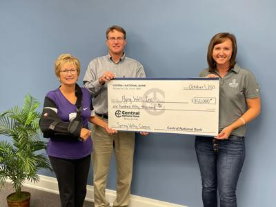Central National Bank Donates $150,000 to Aging Well Project