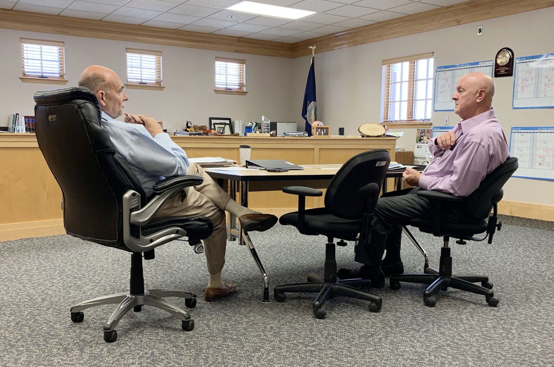 Commissioners hear updates on hospital initiatives, recent layoffs