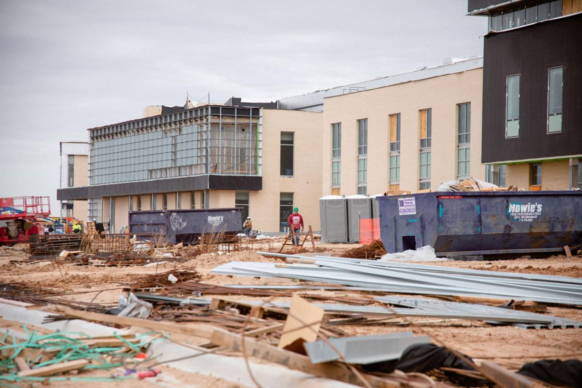 Junction City High School construction