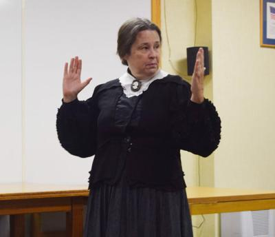 Presentation discusses Charles Curtis' life as seen through eyes of his grandmother