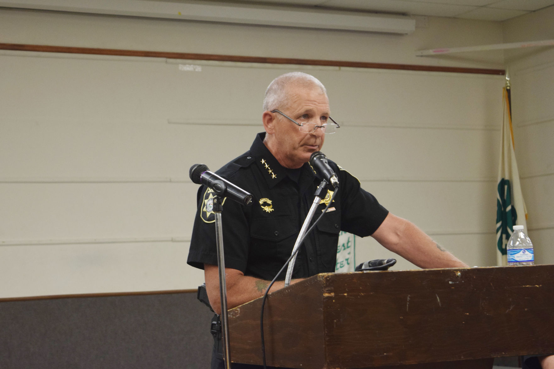 Sheriff discusses several department changes