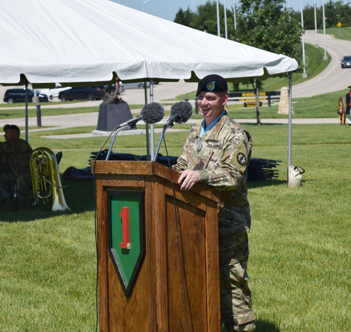 Fort Riley ceremony honors Army's different regiments