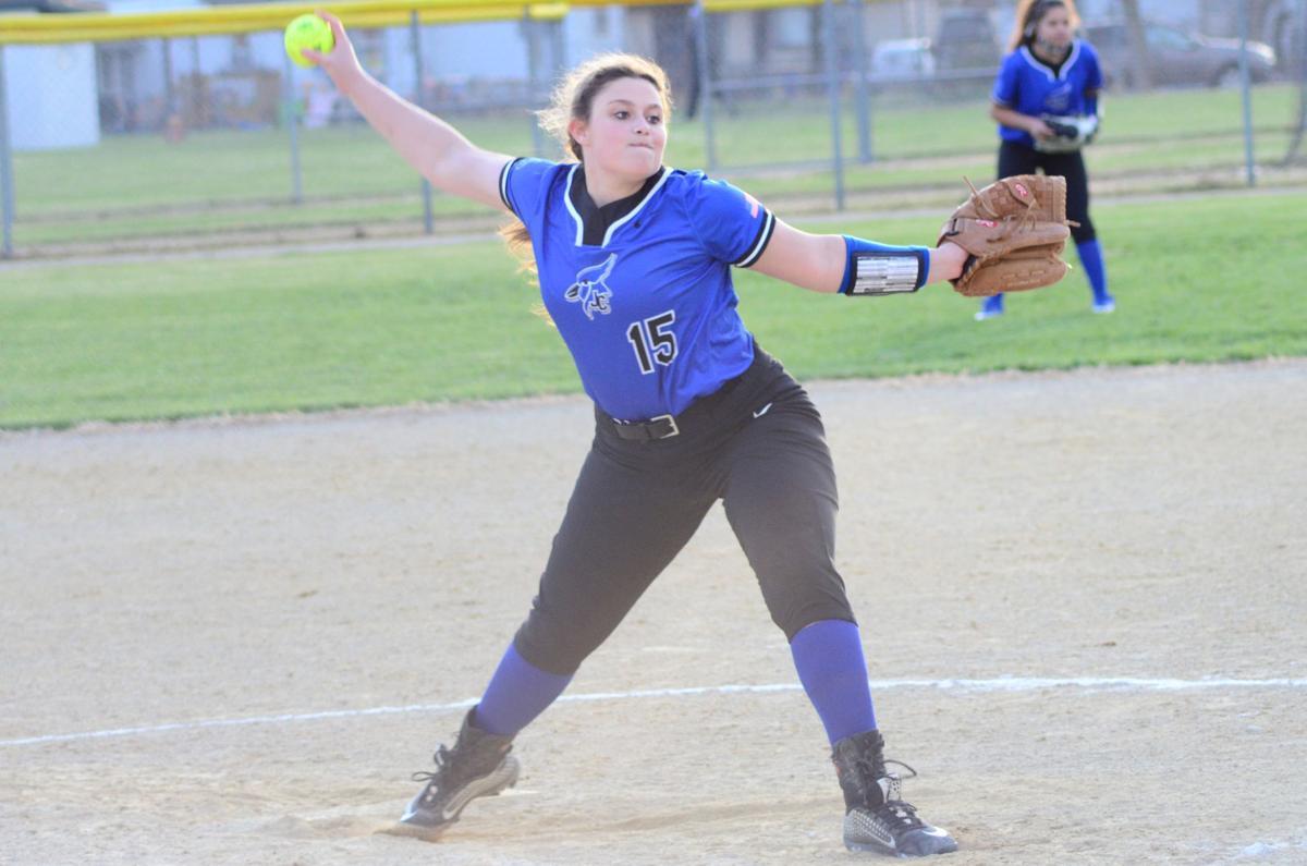Senior pitcher Megan Hunt