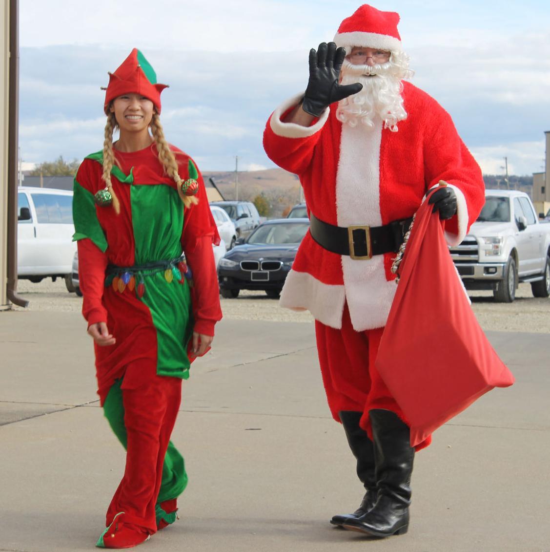 U.S. Army kicks off annual Operation Santa Claus program at Fort Riley