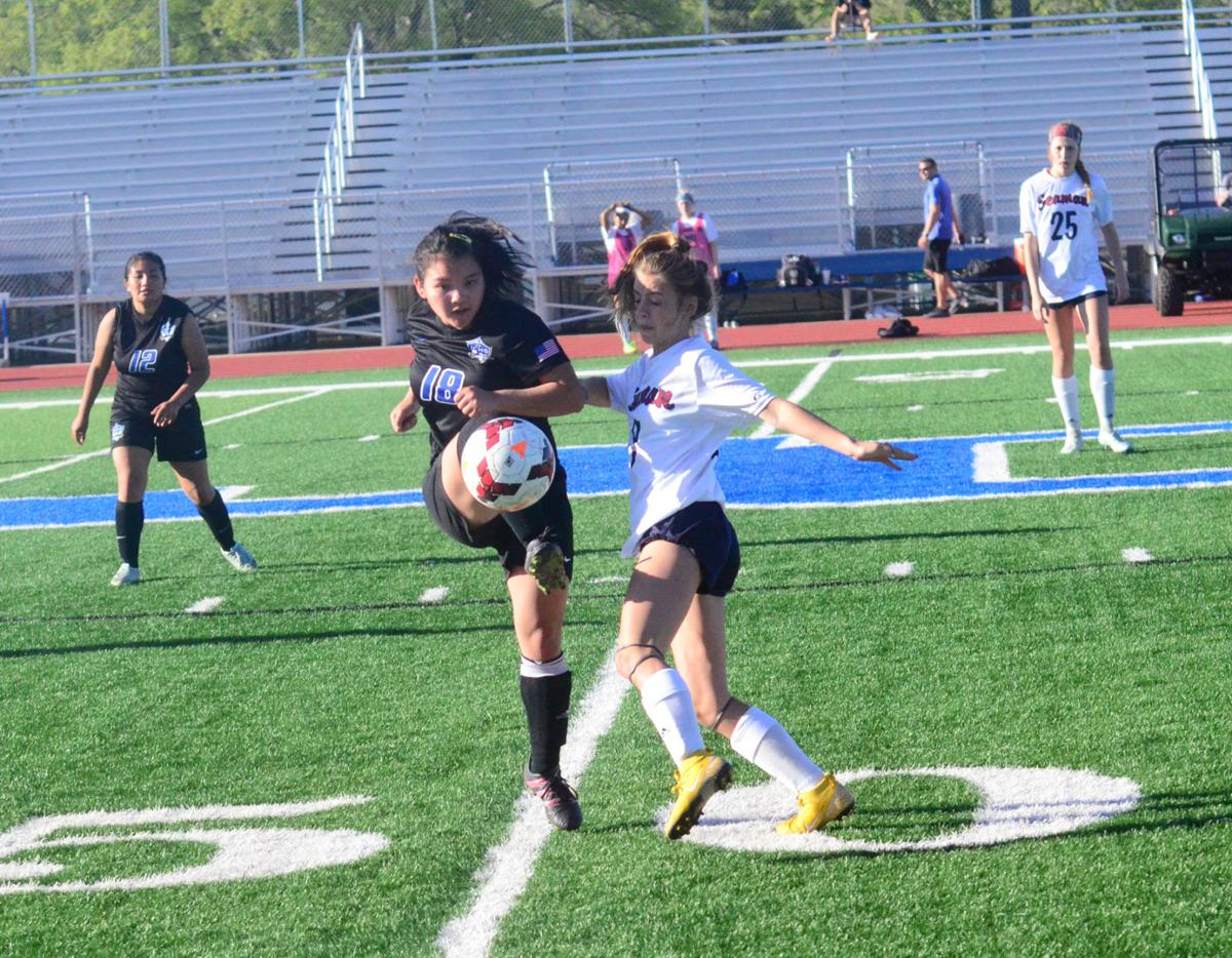 Lady Vikings control time of possession in Friday's win over Junction City