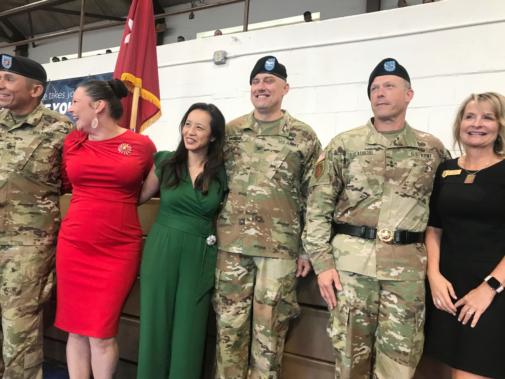 Mungie takes over as artillery brigade commander at Fort Riley