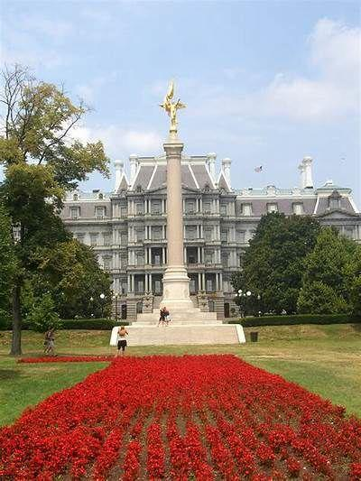 The 1st Division Monument in Washington, D.C.