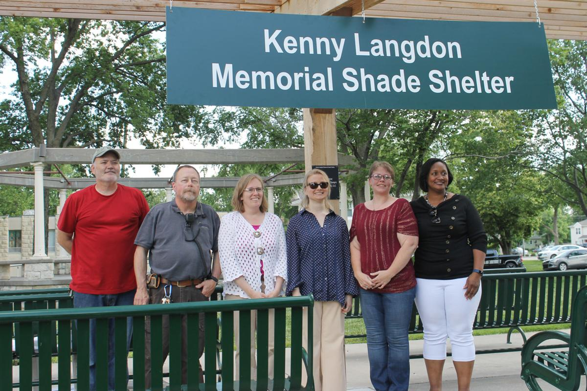 Park's new shade shelter honors memory of city employee