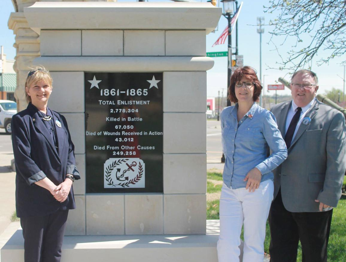 Rotary Club celebrates reproduction of plaques at Heritage Park