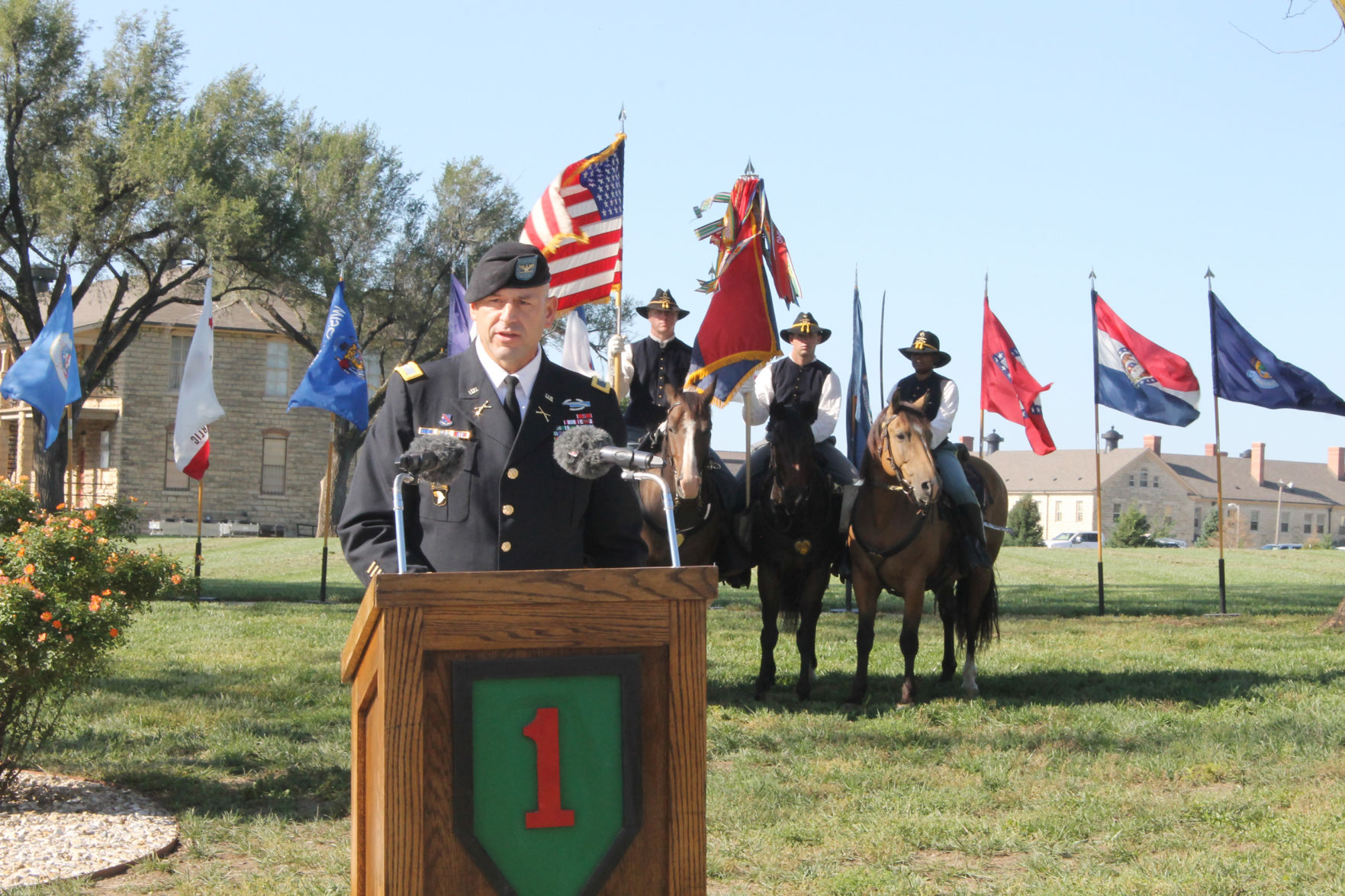 Soldiers' sacrifices remembered during Fort Riley 9/11 commemoration ceremony