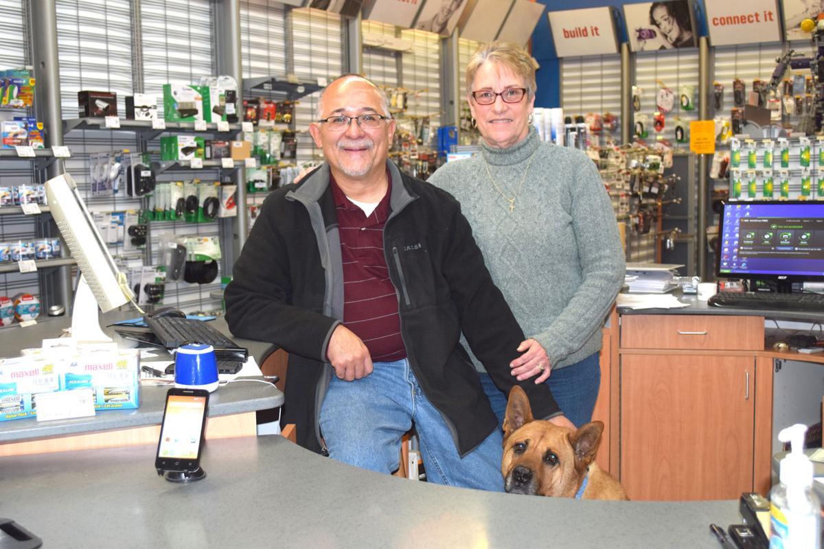 Bob and Gail Cervera close up shop