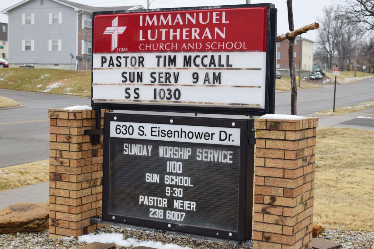 New pastor hopes to make Immanuel Lutheran Church super, just like his son's namesake
