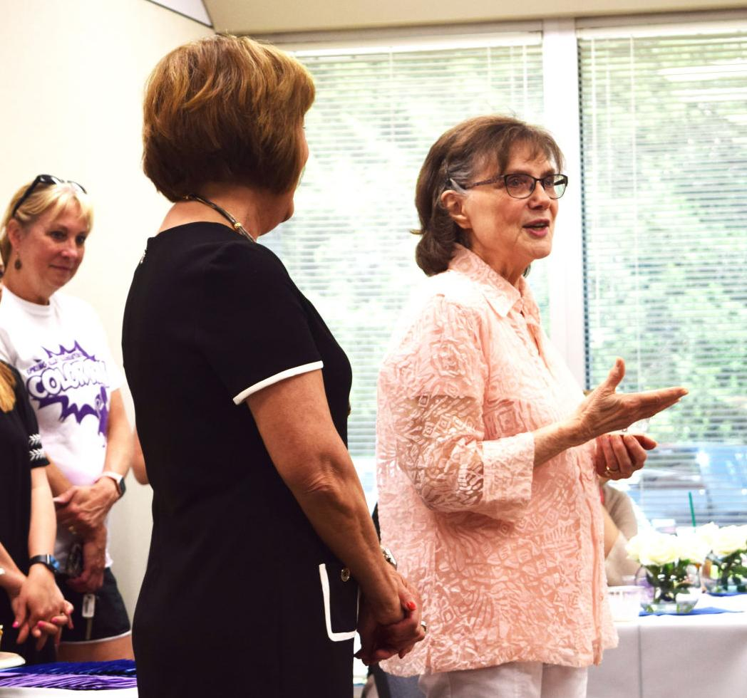 Hudson's success in many different USD 475 roles remembered during retirement celebration