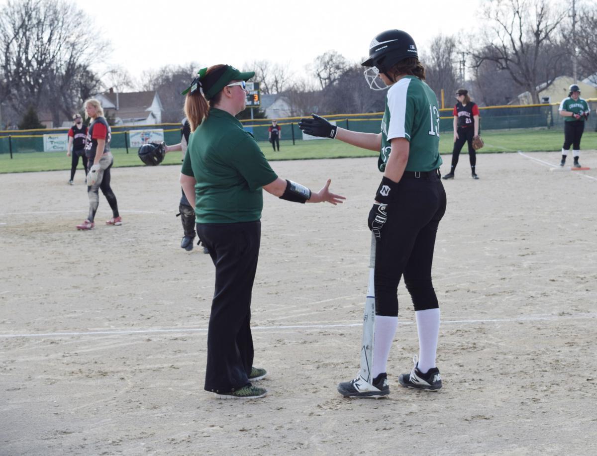 Chapman softball splits doubleheader with Marysville