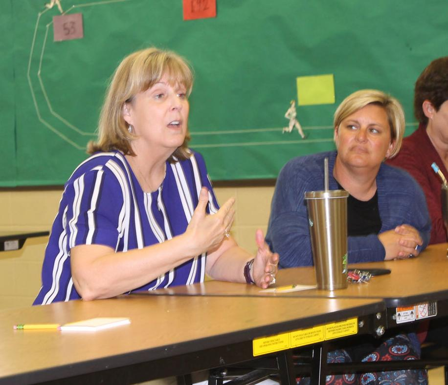 New USD 475 superintendent talks district goals with Grandview community