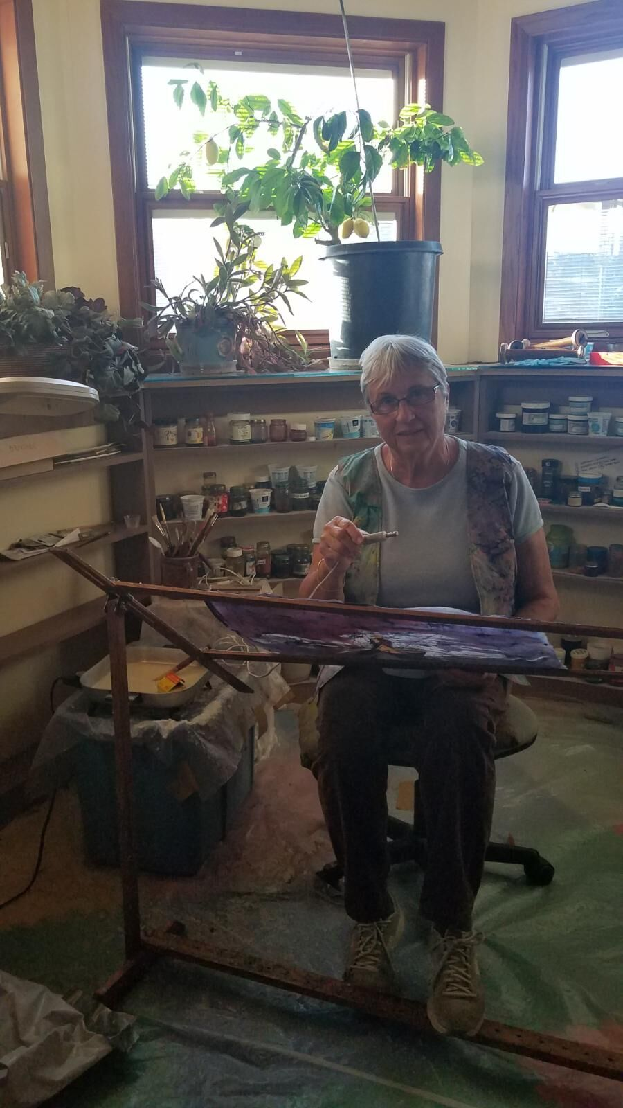 Milford artist featured at Wrap It Up