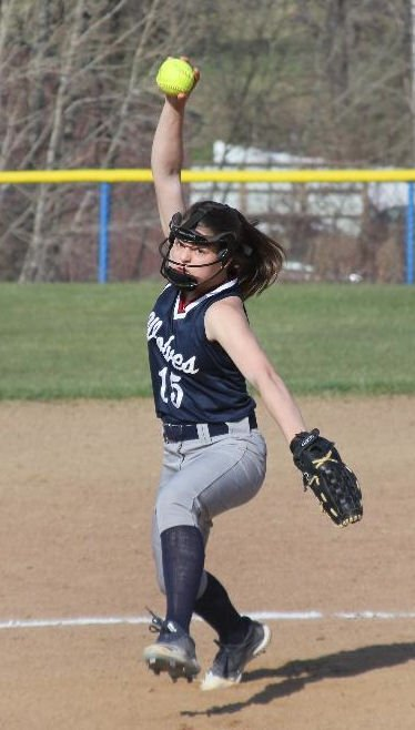Tigani's no-hitter leads Lady Wolves to first win