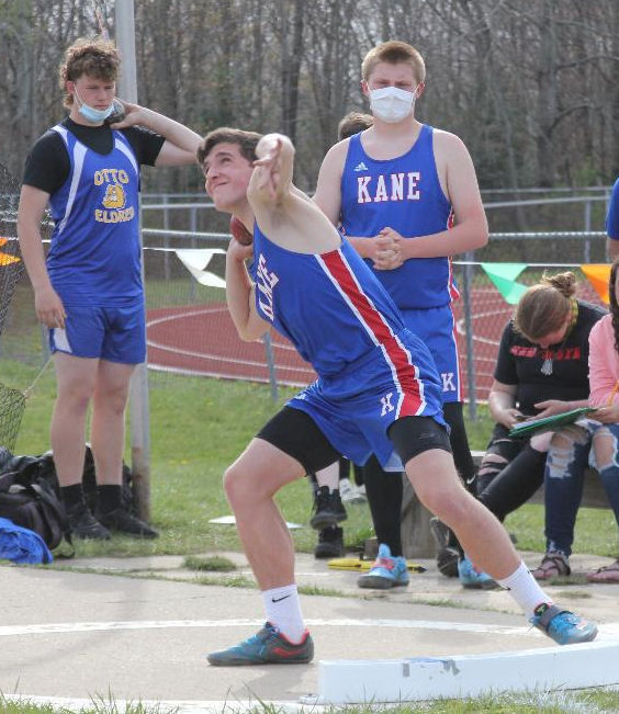 April 27 - Lady Wolves and Wolves top Otto-Eldred and DCC in track action