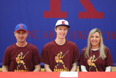 3-3 -  Carson Whiteman to pitch at Gannon University