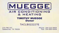 hvac Copperas Cove Tx 254-223-0604 Muegge