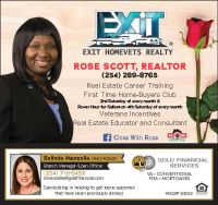 Rose Scott, Exit Homevets Realty