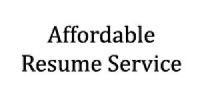 affordable resume service
