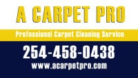 Carpet Cleaning 254-458-0438 Killeen Tx A Carpet Pro