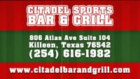 Sports Bar Killeen 254-616-1982 Citadel Sports Bar & Grill