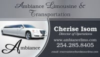 Limo Service Killeen 254-285-8405 Ambiance Limousine And Transportation