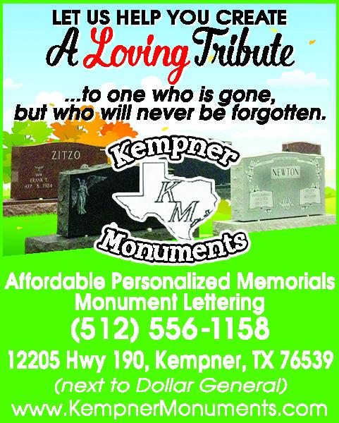 Kempner Monuments