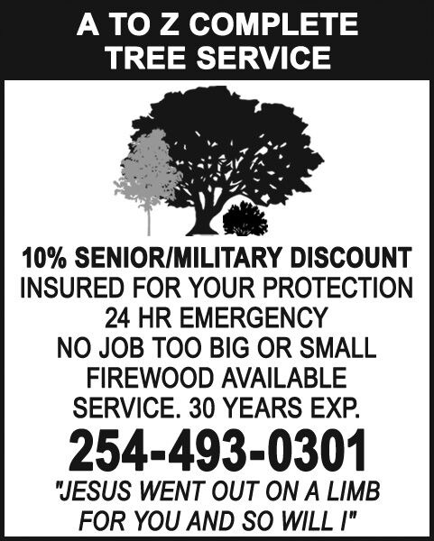 A to Z Complete Tree Services