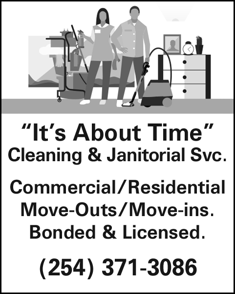 """""""It's About Time"""" Cleaning Service"""