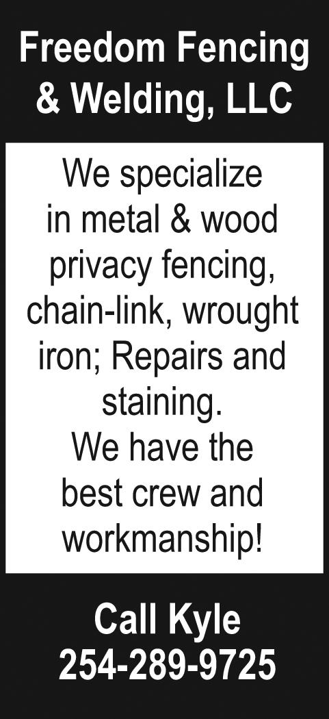 Freedom Fencing & Welding