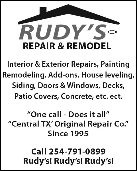 Rudy's Sheetrock Repair & Remodel