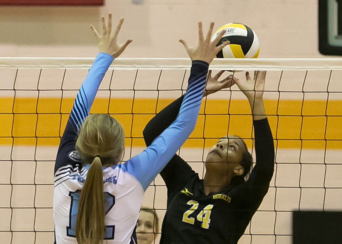 China Spring at Gatesville volleyball