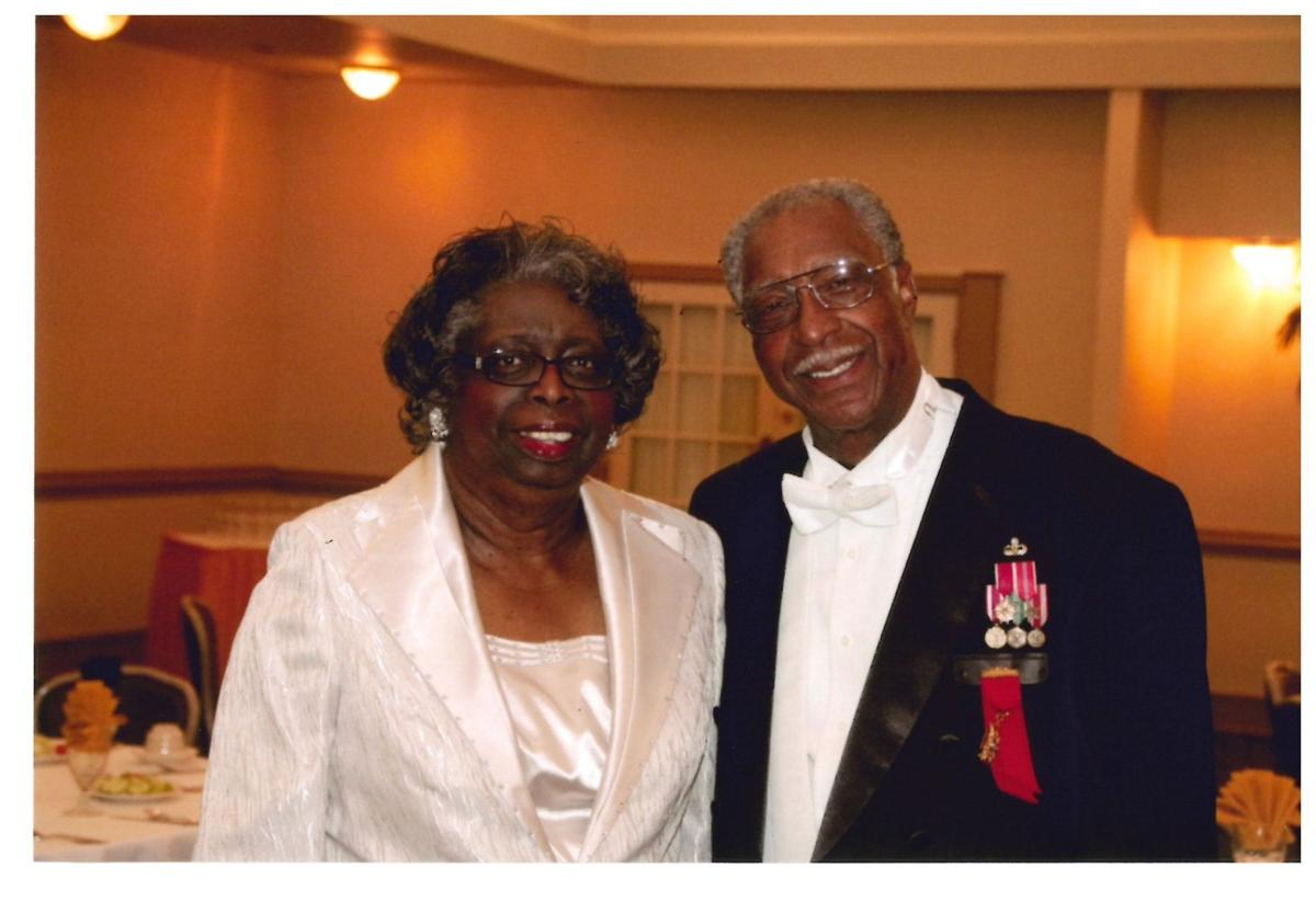 Roosevelt (Roo) and Charmaine Huggins