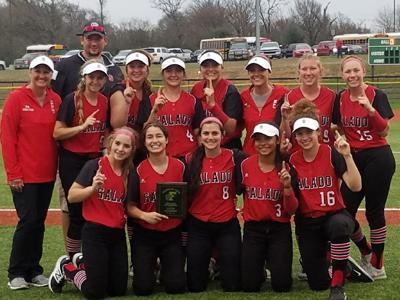 Salado softball at Franklin