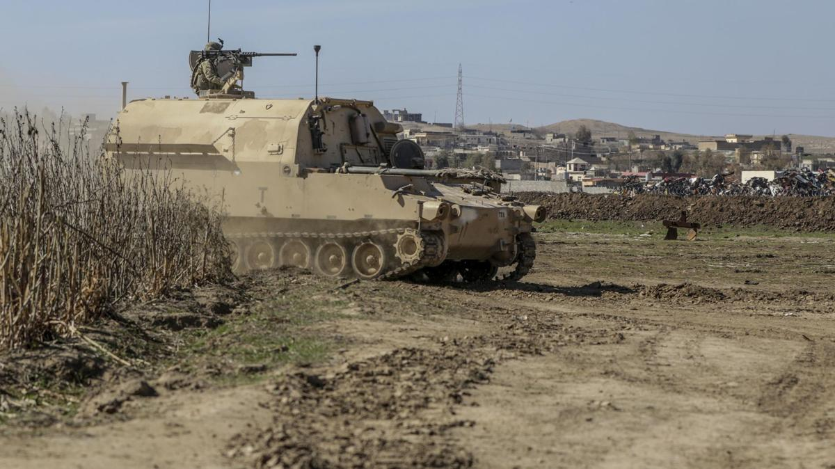 Paladins support Iraqi security forces offensive in West Mosul