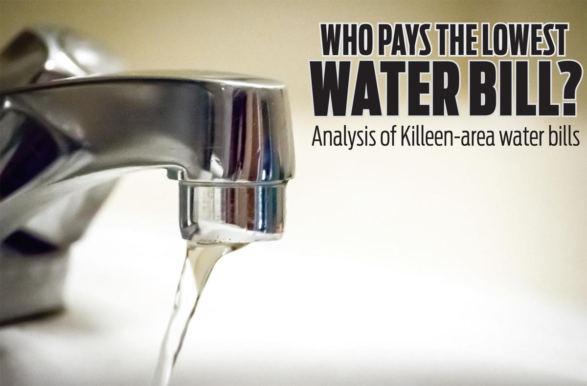 Who pays the lowest water bill?     An analysis of Killeen