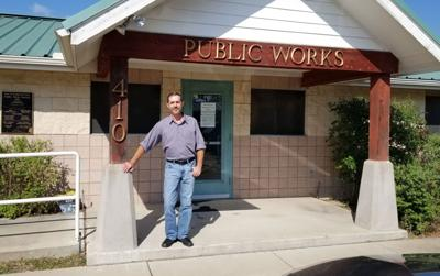 Familiar face takes him of Cove public works department