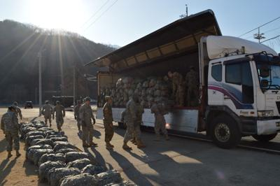 Ironhorse on the ground in South Korea