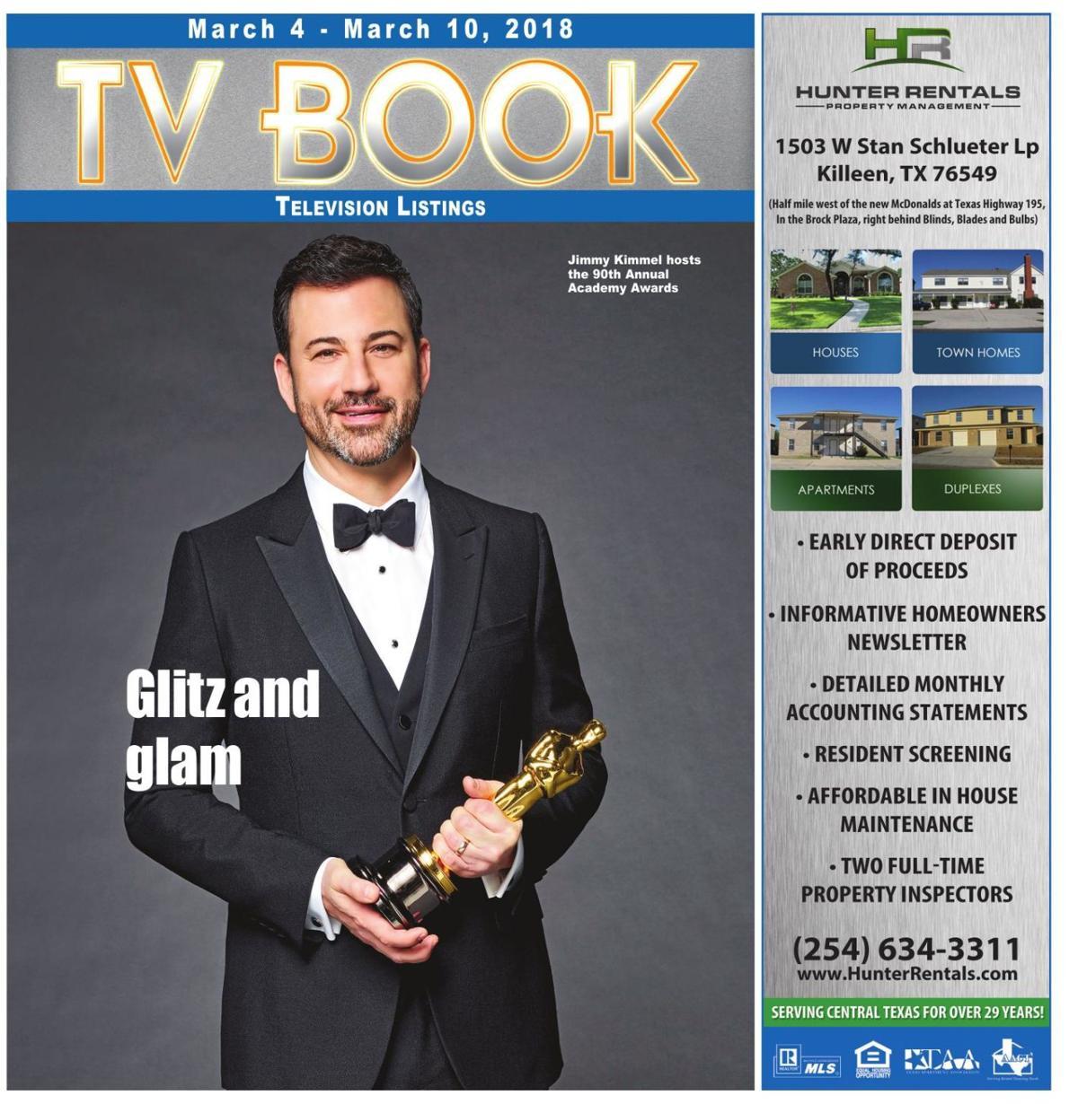TV Book Mar. 4th - Mar. 10th