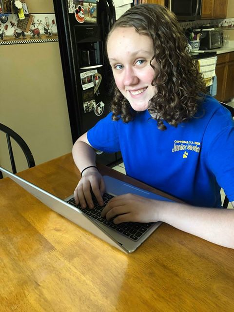 Cove Junior High history buff has sights on contest