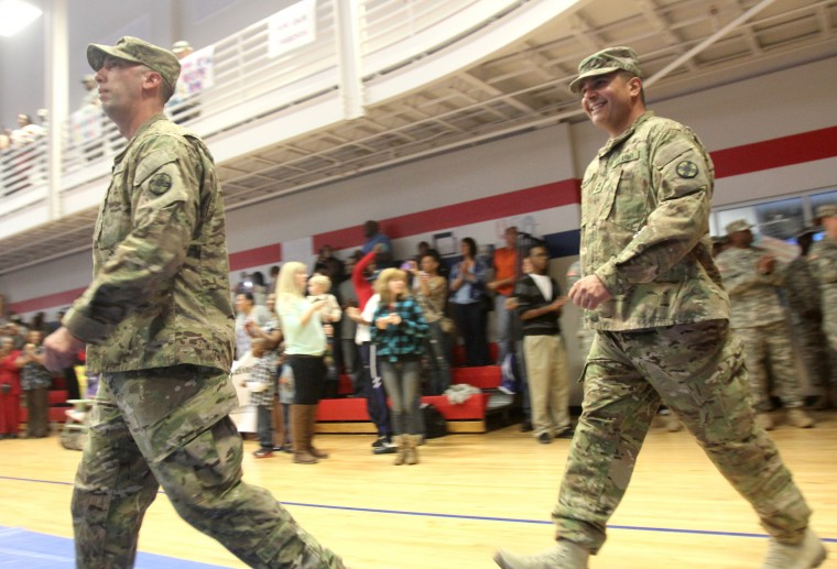 13th Sustainment Command Homecoming