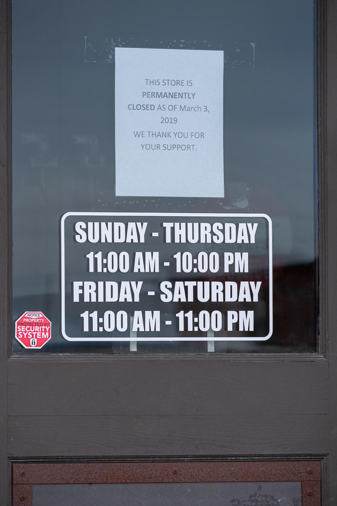 Richard Rawlings' Garage Closing