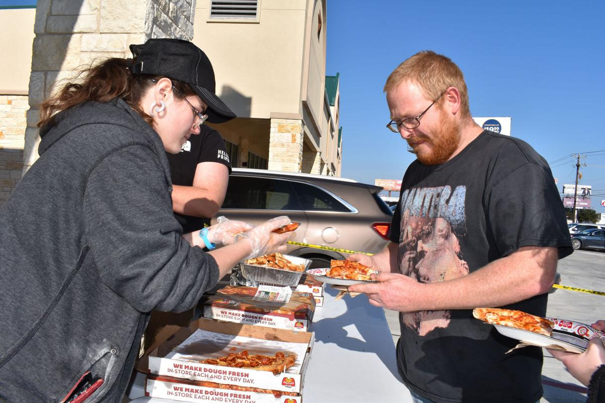 Marco's Pizza grand opening